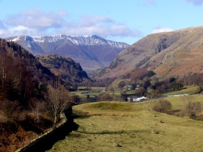 The Vale of St John, looking north towards Blencathra